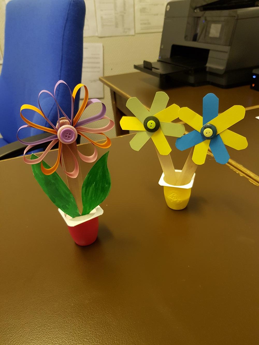 Fabrication fleurs